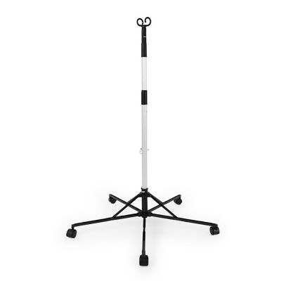 "Sharps Compliance 30006-006 Pitch-It Sr IV Floor Stand, 2-Hook, 5 Caster, 31"", Aluminum - 6 / Case"