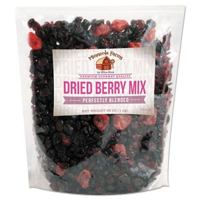 Office Snax 00092 Favorite Nuts Dried Berry Mix, 38 oz Bag - 1 / Case