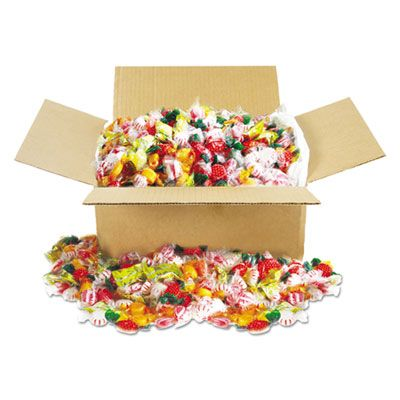 Office Snax 00603 Fancy Assorted Hard Candy, Individually Wrapped, 10 Lb - 1 / Case