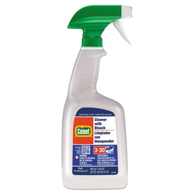 P&G 2287 Comet Cleaner with Bleach, 32 oz Spray Bottle - 8 / Case
