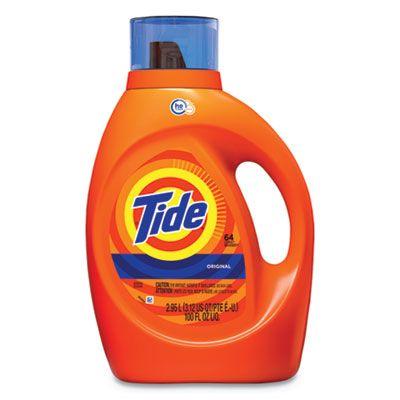 P&G 40217 Tide HE Laundry Detergent Liquid, Original Scent, 100 oz Bottle - 4 / Case