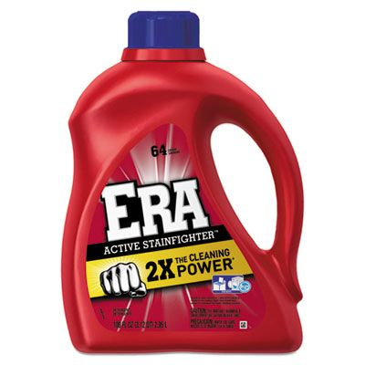 P&G 12891 Era Active Stainfighter Liquid Laundry Detergent, 100 oz Bottle - 4 / Case