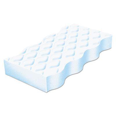 "P&G 16449 Mr. Clean Magic Eraser Pads, 4-3/5"" x 2-2/5"", White - 30 / Case"