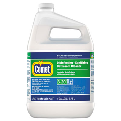 P&G 22570 Comet Disinfecting - Sanitizing Bathroom Cleaner, 1 Gallon Bottle - 3 / Case