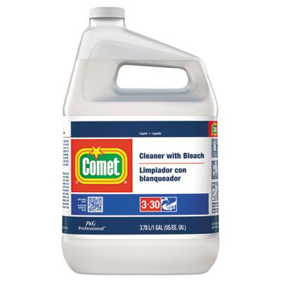P&G 2291 Comet Cleaner with Bleach, Liquid, 1 Gallon Bottle - 3 / Case
