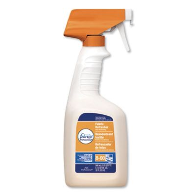 P&G 3259 Febreze Professional Deep Penetrating Fabric Refresher / Odor Eliminator, Fresh Clean Scent, 32 oz Spray Bottle - 8 / Case