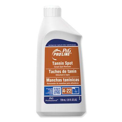 P&G 3447 Pro Line Tannin Spot Carpet Spot Remover, Peach, 25 oz Bottle - 15 / Case