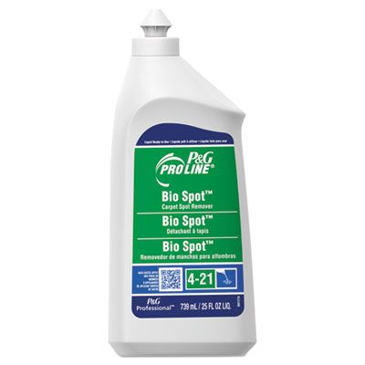P&G 3448 Pro Line Bio Spot Carpet Spot Remover, Fruity Scent, 25 oz Bottle - 15 / Case