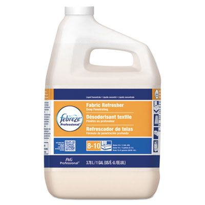 P&G 36551 Febreze Professional Fabric Refresher, Deep Penetrating, 5X Concentrate, 1 Gallon - 2 / Case