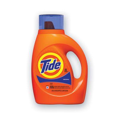 P&G 40213 Tide Original Liquid Laundry Detergent, 32 Loads, 46 oz Bottle - 6 / Case