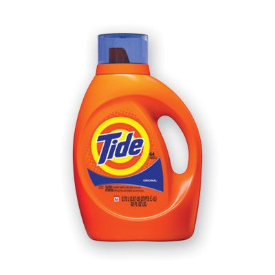 P&G 40218 Tide Liquid Laundry Detergent, 64 Loads, 92 oz Bottle, Original Scent - 4 / Case