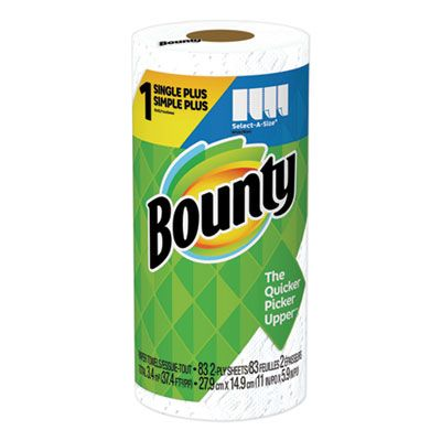 P&G 47792 Bounty Select-a-Size Paper Towels, 83 Sheets / Roll - 24 / Case
