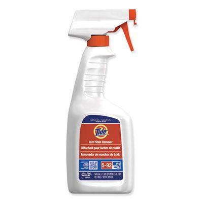 P&G 48146 Tide Rust Stain Remover, Peach Scent, 32 oz Spray Bottle - 9 / Case