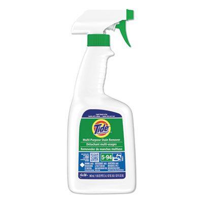 P&G 48147 Tide Multi-Purpose Stain Remover, 32 oz Spray Bottle - 9 / Case