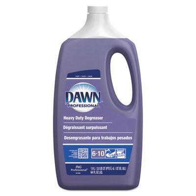 P&G 4853 Dawn Professional Heavy Duty Degreaser, Pine Scent, 2 Quart Bottle - 5 / Case