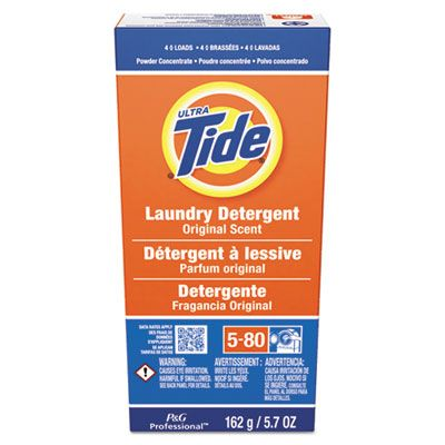 P&G 51042 Tide Laundry Detergent Powder, 4 Loads, 5.7 oz Box - 14 / Case