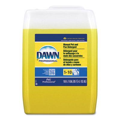 P&G 70682 Dawn Manual Pot & Pan Detergent, Lemon Scent, 5 Gallon Pail - 1 / Case
