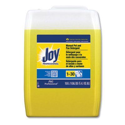 Joy 43608 Dishwashing Liquid, Lemon Scent, 5 Gallon Cube - 1 / Case