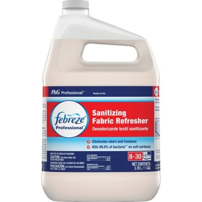 P&G 72136 Febreze Professional Sanitizing Fabric Refresher, Light Scent, 1 Gallon - 3 / Case