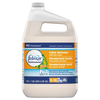 P&G 74678 Febreze Professional Fabric Refersher with Gain Scent, 1 Gallon Bottle - 2 / Case