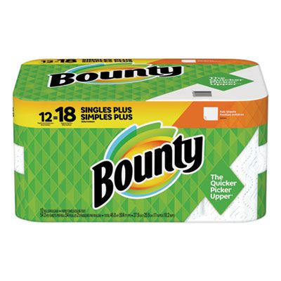 P&G 74796 Bounty Paper Towels, 54 Sheets / Roll - 12 / Case