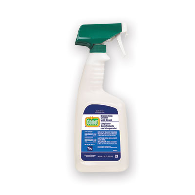 P&G 75350 Comet Disinfecting Cleaner with Bleach, Fresh Scent, 32 oz Spray Bottle - 6 / Case