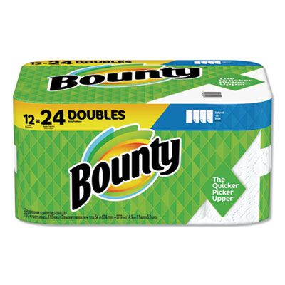 P&G 76209 Bounty Select-a-Size Paper Towels, 110 Sheets / Roll - 12 / Case