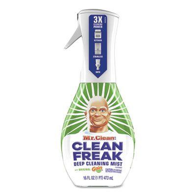 P&G 79127 Mr. Clean Clean Freak Deep Cleaning Mist Multi-Surface Spray, Gain Original Scent, 16 oz Bottle - 6 / Case