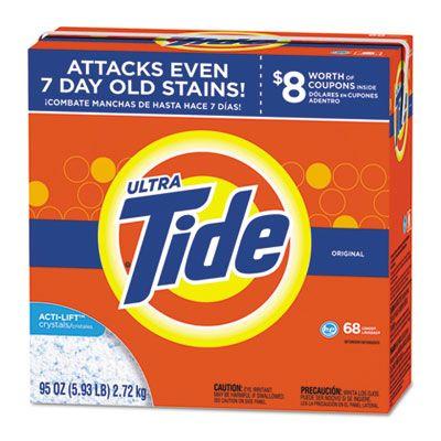 P&G 84997 Ultra Tide HE Laundry Detergent Powder, Original Scent, 95 oz Box - 3 / Case