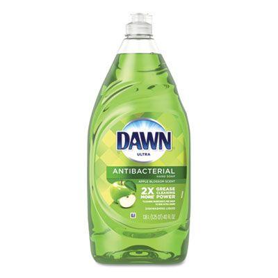 Dawn 91093 Ultra Antibacterial Liquid Dish Detergent, Apple Blossom Scent, 40 oz Bottle - 8 / Case