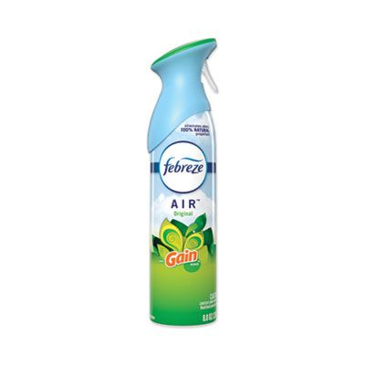 P&G 96252 Febreze AIR Freshener Spray, Gan Original Scent, 8.8 oz Aerosol Can - 6 / Case