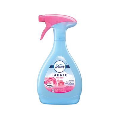 P&G 97590 Febreze FABRIC Refresher / Odor Eliminator, Downy April Fresh Scent, 27 oz Spray Bottle - 4 / Case