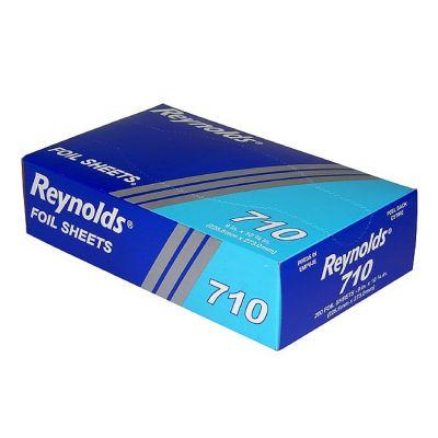 """Pactiv 710 Reynolds Aluminum Foil Sheets, 9"""" x 10.75"""" - 2400 / Case"""