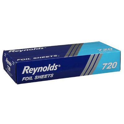 """Pactiv 720 Reynolds Aluminum Foil Sheets, 12"""" x 10.75"""" - 2400 / Case"""