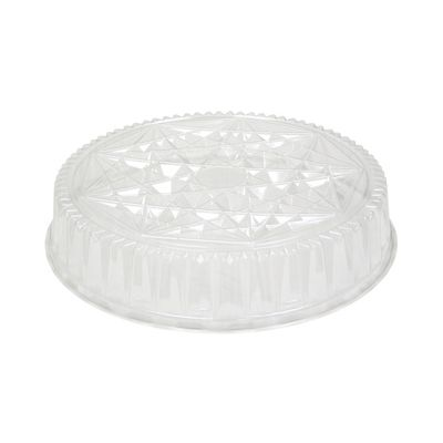 """Pactiv P4416 Dome Lid for Caterware 18"""" Trays, Clear - 50 / Case"""