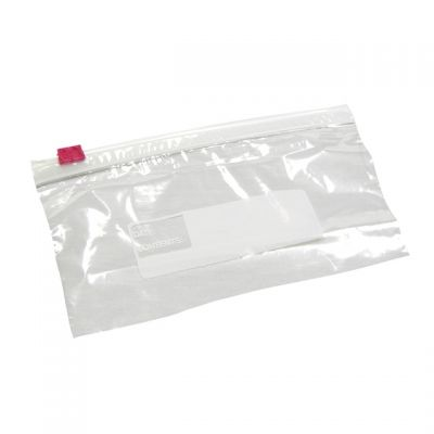 "Pactiv RS63 Reynolds Qwik Seal Plastic Zipper Bags, 6.5"" x 3.25"", Clear - 500 / Case"