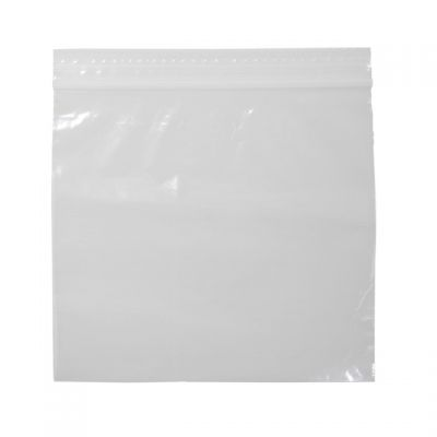 "Pactiv RS65 Reynolds Qwik Seal Sandwich Plastic Zipper Bags, 6-5/8"" x 5-7/8"", Clear - 500 / Case"