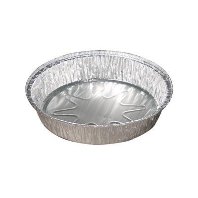 """Pactiv Y55830 8"""" Round Aluminum Foil Pans, 37 oz - 250 / Case"""