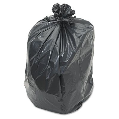 "Penny Lane 526 60 Gallon Garbage Bags / Trash Can Liners, 2 Mil LDPE, 38"" x 58"", Black - 100 / Case"