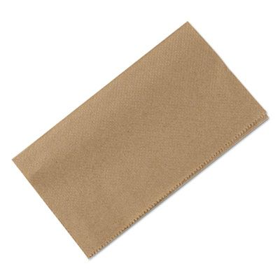 "Penny Lane 8210 Singlefold Paper Hand Towels, 9.3"" x 10.5"", Brown - 4000 / Case"