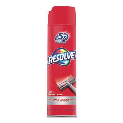 Reckitt Benckiser 706 Resolve Foam Carpet Cleaner, 22 oz Aerosol Can - 12 / Case