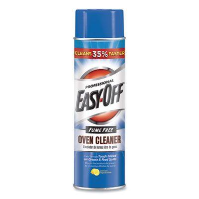 Reckitt Benckiser 74017 Easy-Off Fume Free Oven Cleaner Spray, Foam, Lemon Scent,  24 oz Aerosol - 6 / Case