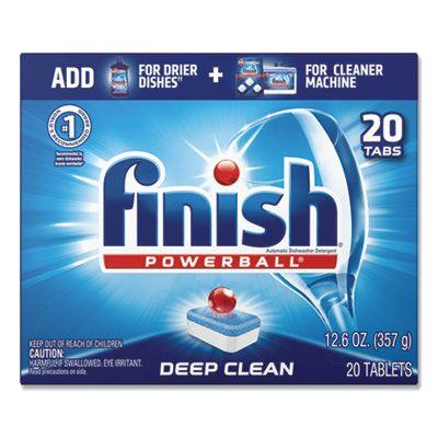 Reckitt Benckiser 77050 Finish Automatic Dishwasher Tablets, 3x Power, Fresh Scent - 160 / Case