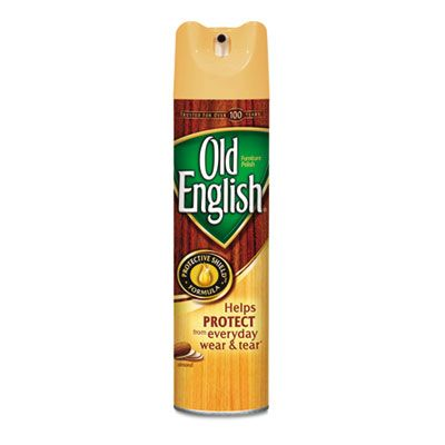 Reckitt Benckiser 77677 Old English Furniture Polish Spray, 12.5 oz Aerosol Can - 12 / Case