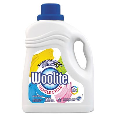 Reckitt Benckiser 83134 Woolite Gentle Cycle Laundry Detergent, Light Floral Scent, 100 oz Bottle - 4 / Case