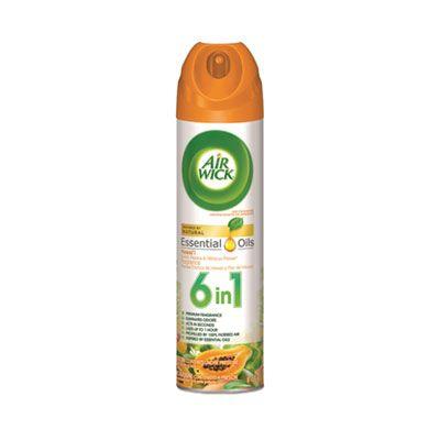Reckitt Benckiser 85257 Air Wick Aerosol Air Freshener Spray, Hawaii Exotic Papaya/Hibiscus Flower Scents, 8 oz - 12 / Case