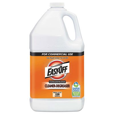 Reckitt Benckiser 89771 Easy-Off Concentrated Cleaner/Degreaser, 1 Gallon Bottle - 2 / Case