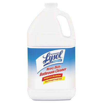Reckitt Benckiser 94201 Lysol Disinfectant Heavy Duty Bathroom Cleaner Concentrate, 1 Gallon - 4 / Case