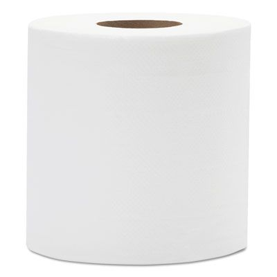Resolute CP600WINDSOR Windsor Place Premium Center Pull Roll Paper Hand Towels, 2 Ply, 600 Sheets / Roll, White - 6 / Case