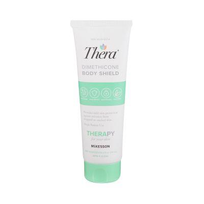 McKesson 53-DS4 Thera Dimethicone Body Shield Cream Skin Protectant, Scented, 4 oz Tube - 12 / Case